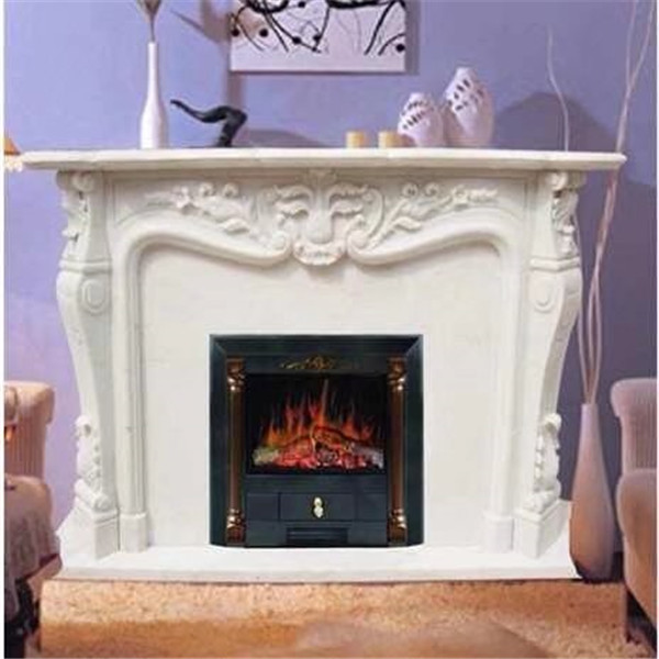 Marble Fireplace Mantel (3)