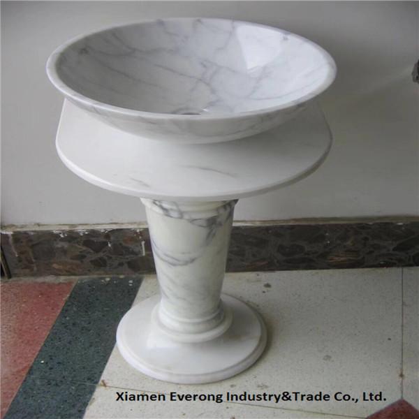 Pedestal marble basin (45)