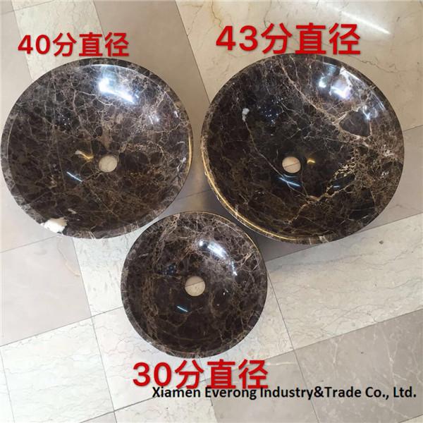 dark emperador marble basin (24)
